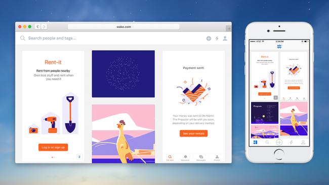 Phiên bản miễn phí của Wake nhằm giúp các freelancer và các nhóm nhỏ giao tiếp và cộng tác hiệu quả hơn