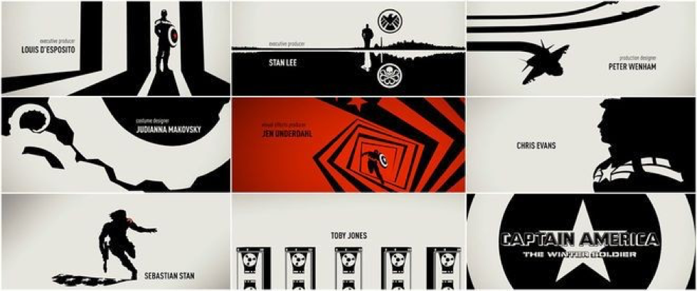 Motion Design: Captain America: The Winter Soldier Title Sequence
