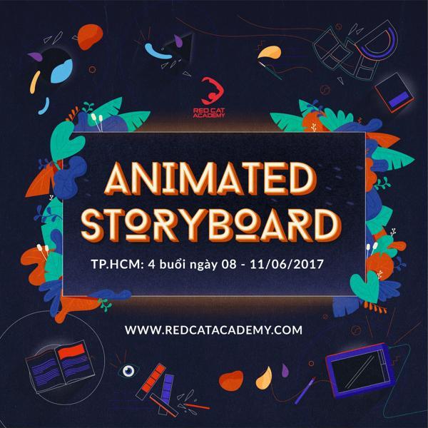Animated Storyboard Bootcamp:là chuỗi chương trình Bootcamp chuyên sâu về xây dựng storyboard cho phim và animation của Red Cat Academy  Khai giảng dự kiến:4 buổi ngày 08-09/06/2017 (Tối: 18:30 - 21:30) và 10-11/6/2017 (Chiều: 14:00 - 17:00 )   Trại phí tiêu chuẩn: 1,500,000 đ   Số lượng trại viên: 20 bạn   Tình trạng : Còn chỗ    ĐĂNG KÝ NGAY
