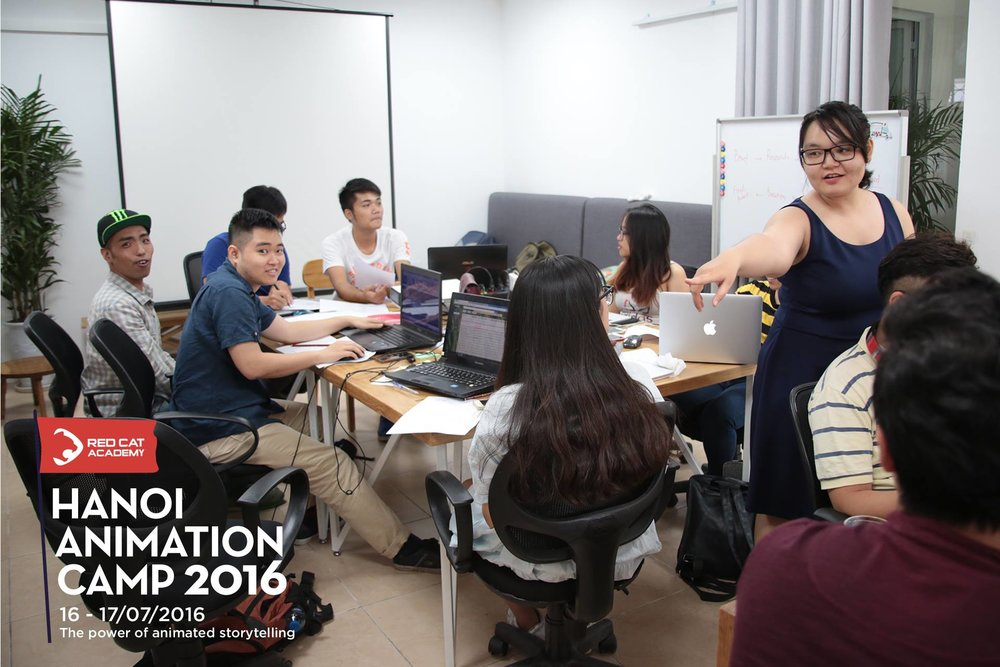 Hà Nội Animation Camp 2016