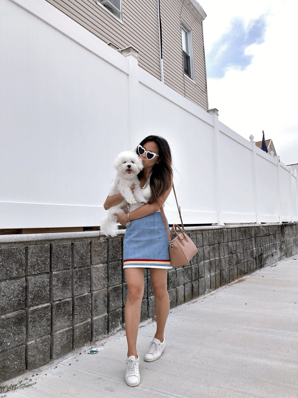 Sustainable Denim Skirt