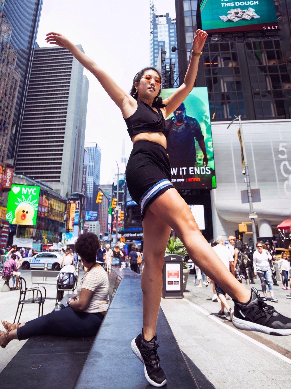 AndAgain Sustainable Denim Skirt