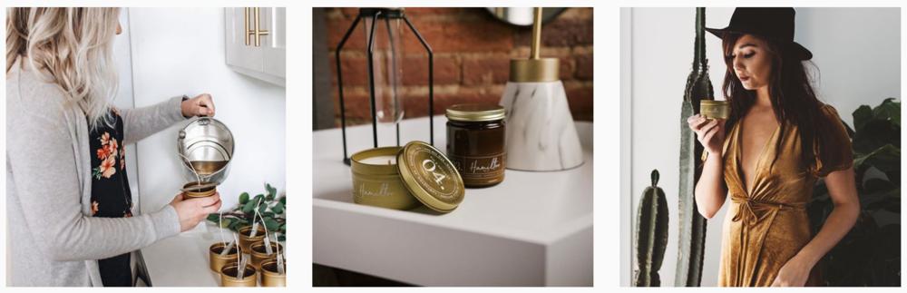Hamilton Wax Company Candles