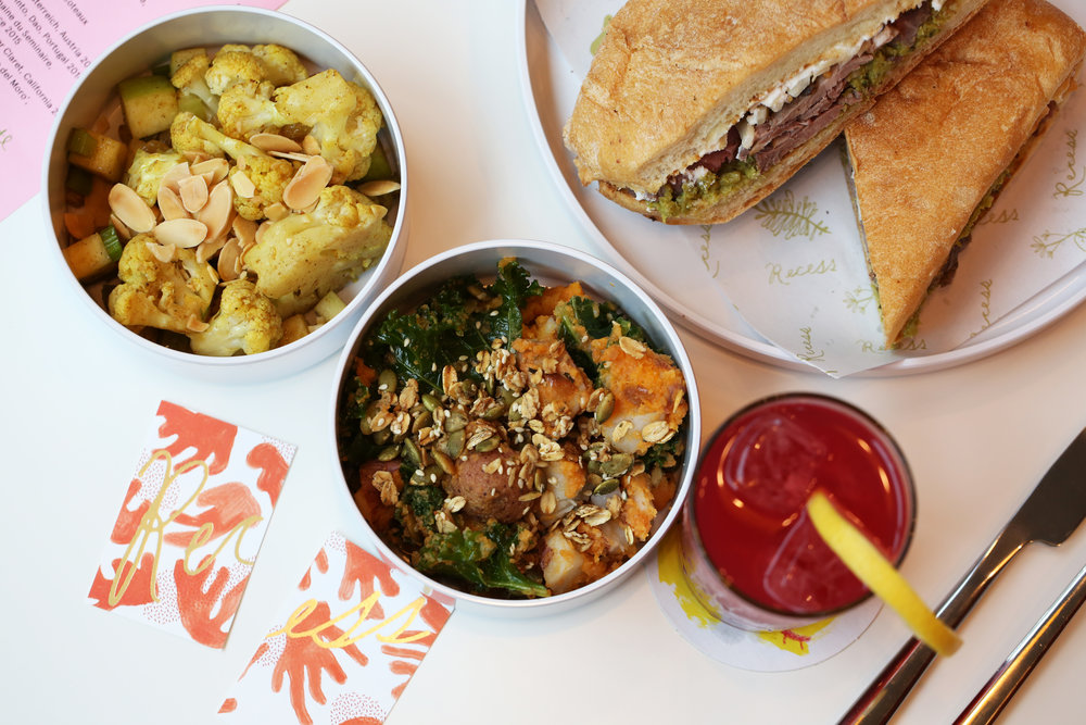 The Hottest Restaurants in Atlanta Right Now, March 2018   Think grain bowls, a shiitake and crimini mushroom patty with Swiss cheese on rye, or a lamb sandwich with pea mash, ricotta, and pickled fennel on ciabatta. Beverages consist of cocktails (including the frozen variety), wine, beer, smoothies, and fresh juices. Breakfast is available on the weekends.