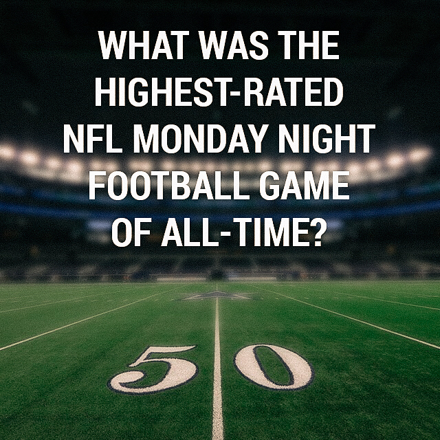 Maybe Mondays aren't so bad... #MondayNightFootball
