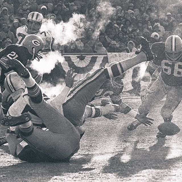 The coldest game in the history of the @nfl was the 1967 NFL championship game, also know as the #IceBowl. The temperature in Green Bay when the @packers and @dallascowboys kicked off was 13-below. Hear a first hand account from the legendary, Jerry Rhome, in this weeks #PPENpodcast. Link in bio.