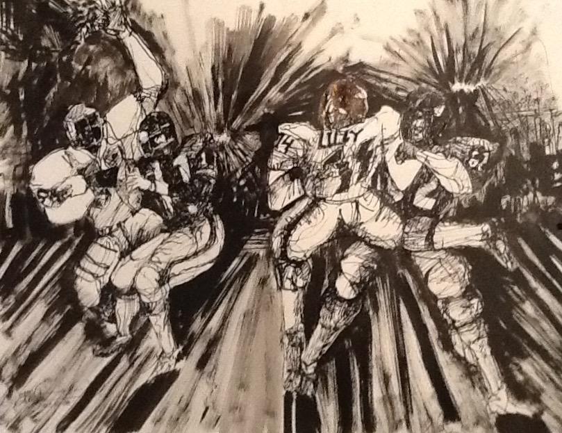 Sketch by Ed White