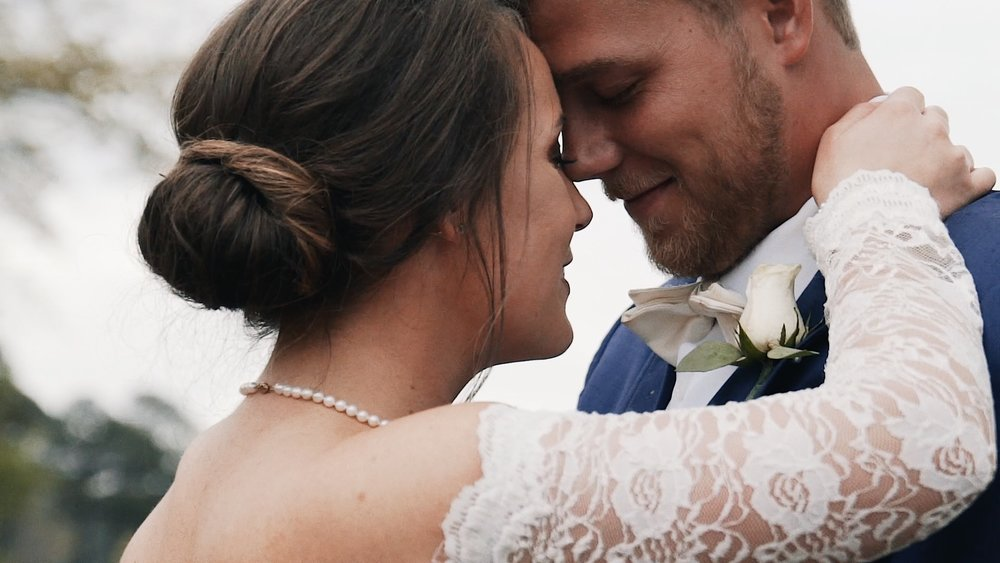Stephen & Caroline - As the spring storm clouds rolled over the vast sky, a beautiful bride...