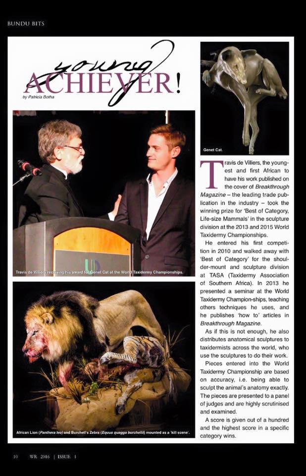 Wildlife Ranching Issue 1 2016 2