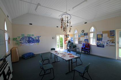 Cooper Centre interior, St John's Bentleigh, VIC