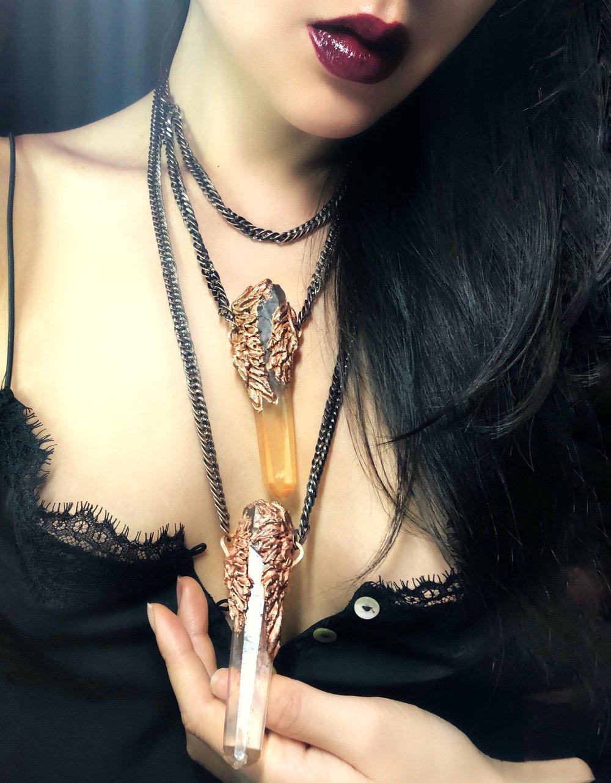 illumin designs winged lemurian necklace angel pai