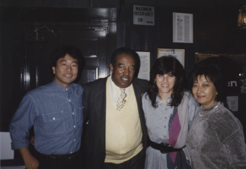 Nori, Mari Mariko with Ray Brown.jpg