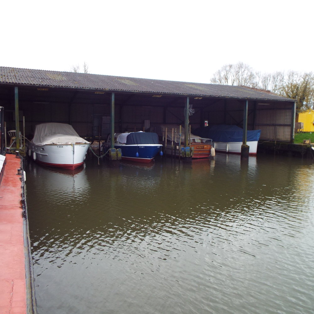 - H. E. Hipperson is a family run boatyard located on the edge of Beccles, Suffolk. We offer moorings and storage for boats as well as repair and maintenance services. There are dayboats available for local trips and houseboats for longer stays. We are a Caravan Club Certified Location for up to five caravans, conveniently located for access into the town and on the bus route to Norwich.Diesel and pumpouts are available from our service pontoon. Have a browse through the website to find out more about what we do.We have a number of facilities at our yard, find out more about them in these pages. We recycle waste where possible and also use environmentally friendly soaps in the houseboats and guest toilets.You are welcome to visit with your dog, but they must be on a lead at all times.General information about site access can be found here.