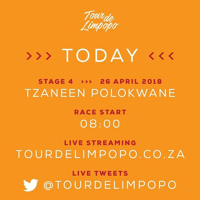 Today is the final stage of #TourdeLimpopo2018, after 113.95km will Gustav Basson keep the yellow jersey?  Make sure you follow our twitter page for live tweets and watch the live streaming of the stage on our website at www.tourdelimpopo.co.za/live-feed/ #LimpopoTourism #tdl #tourdelimpopo #cycling #cyclingsa #uci #race #racing #africa #tourismsouthafrica #limpopo #limpopoprovince #cyclerace #tour #ride #riding #golimpopo #ilovesouthafrica