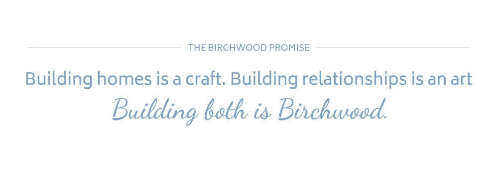 Birchwood Construction Copy Writing Services