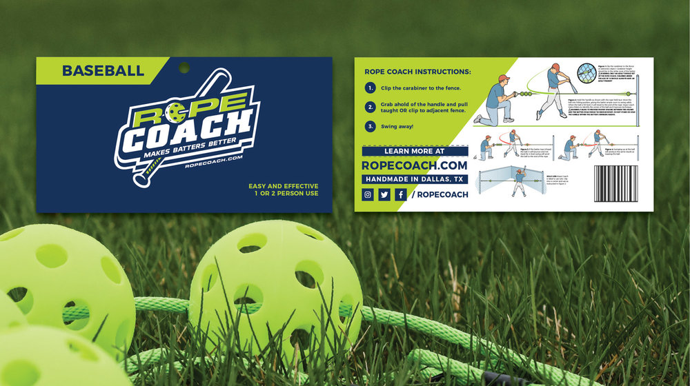 Rope Coach's print collateral and product design by Current 120.