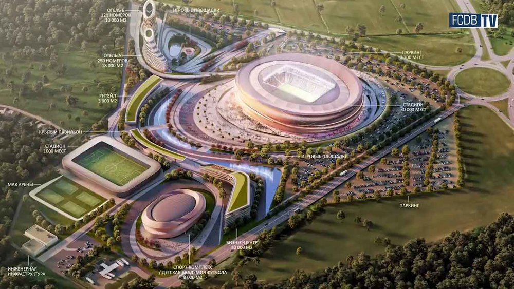 Inwex Innovation Center FZE UAE - Building a Full Fledged Stadium Under The Name of His Highness Sheikh Zayed In Belarus