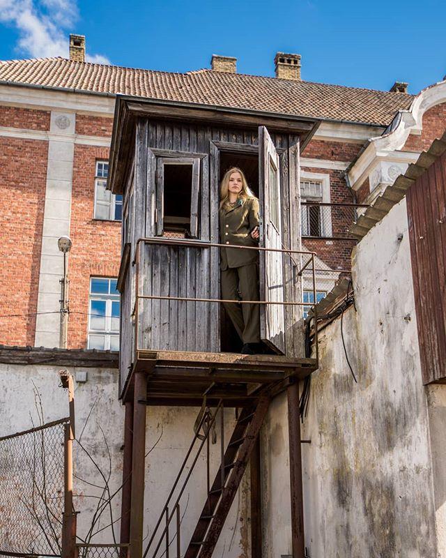 #prison #abandonedplaces #abandonedprison #photographer #photography #bluesky #visitpärnu #visitestonia #cccppõgenemistoad