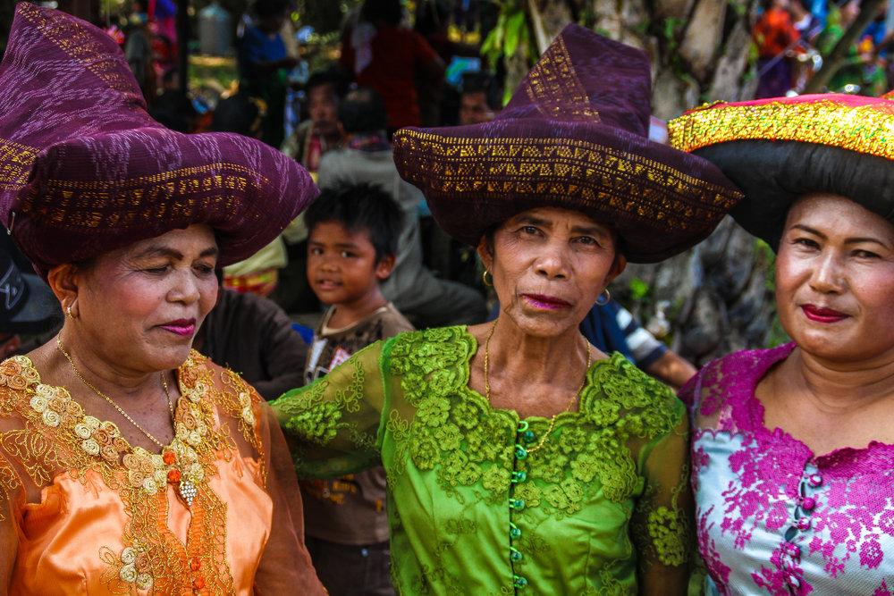 Indigenous Karonese women, Northern Sumatra