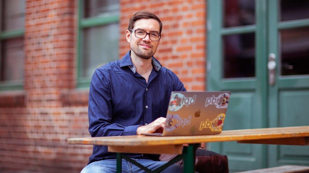 Frederik Fischer - Co-Founder, Ko-DorfChief Editor, Piqd