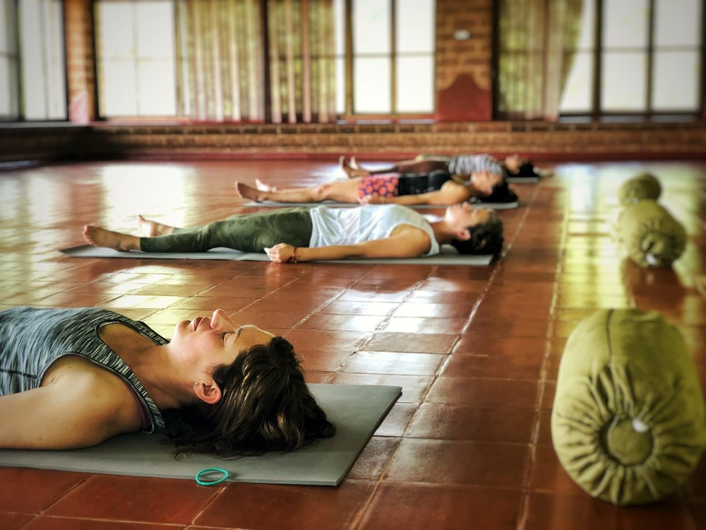 Yoga Nidra or Yogic Sleep is a form of deep and relaxing transformational meditation