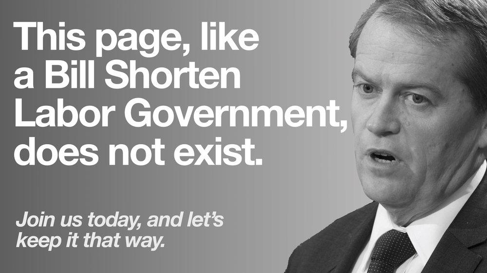 Bill Shorten UTAS Liberals