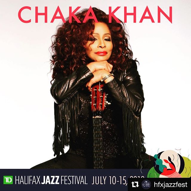 #Repost @hfxjazzfest ・・・ The @chakakhan and @mattandersenmusic with @themellotones ticket sales start Today!  Ticket 🎟🎟 link: www.halifaxjazzfestival.ca/#chakachakachakakhan #HJF2018