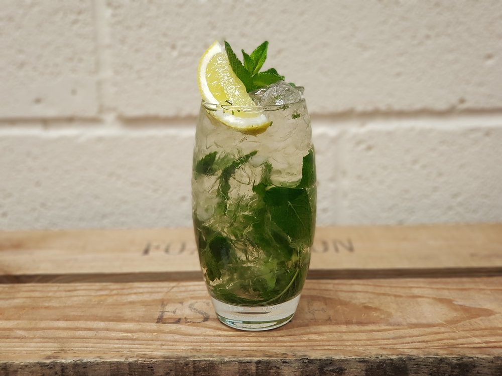 Lemon & Cucumber Mojito -