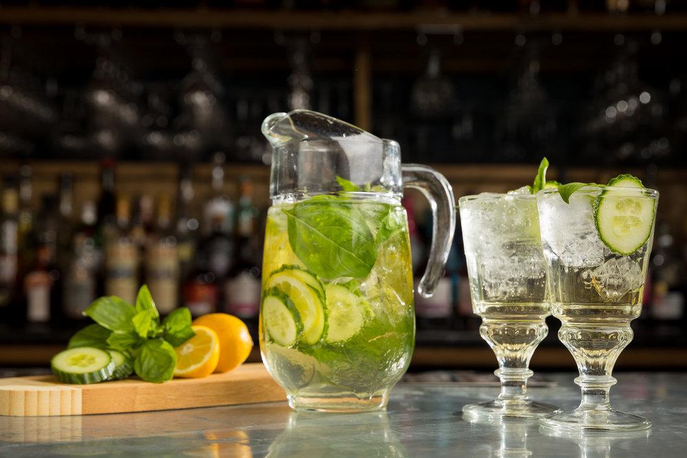 Lemon & Cucumber Summer Pitcher -