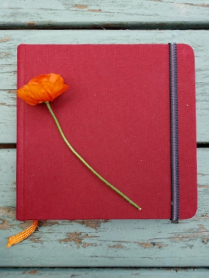 my next sketchbook is a 5.5 inch square travelogue by hand book journal co..