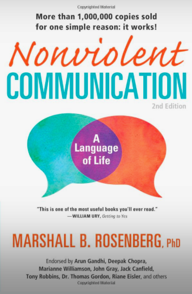 Nonviolent Communication: A Language of Lifeby Marshall B. Rosenberg -