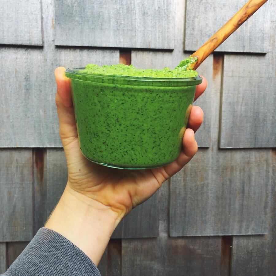 Fresh, vibrant, nutritionally dense, pesto magic!