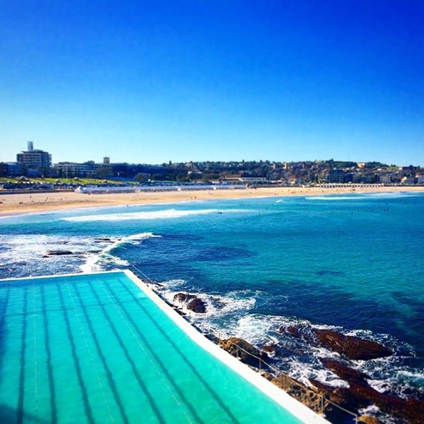Bondi Icebergs pool & Bondi Beach.. I mean, c'mon.
