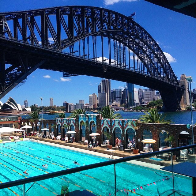 North Sydney Olympic Pool at Milson's Point... SALT WATER BABY!