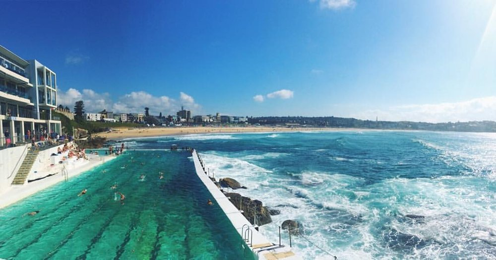 So in love with this place. Bondi Icebergs pool/ Bondi Beach, Sydney.