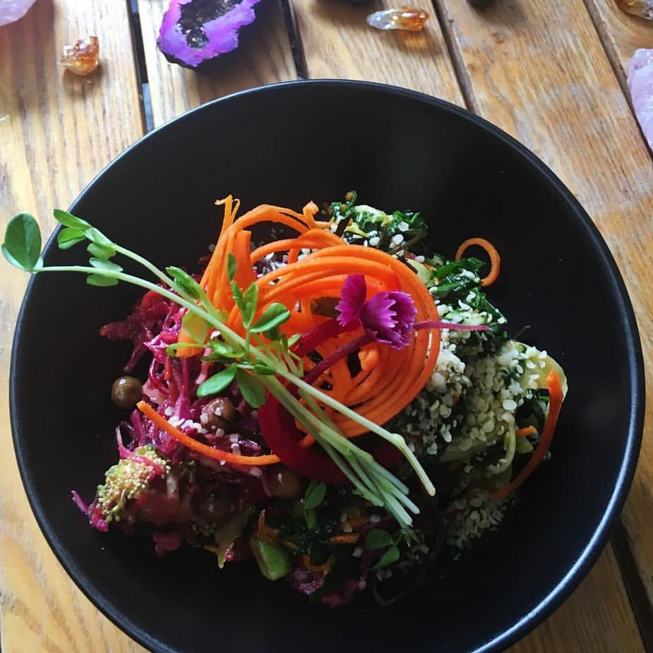 Superfood salad at Earth to Table, Bondi Junction.