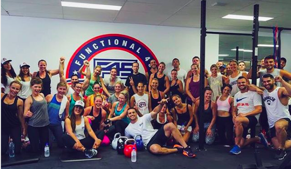 F45 session led by Dan Conn
