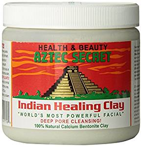 An alternative (less expensive) clay mask, with detoxifying bentonite clay.