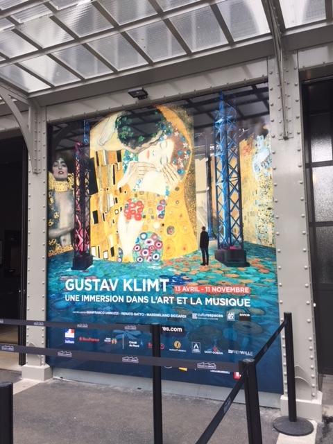 Gustav Klimt exhibit