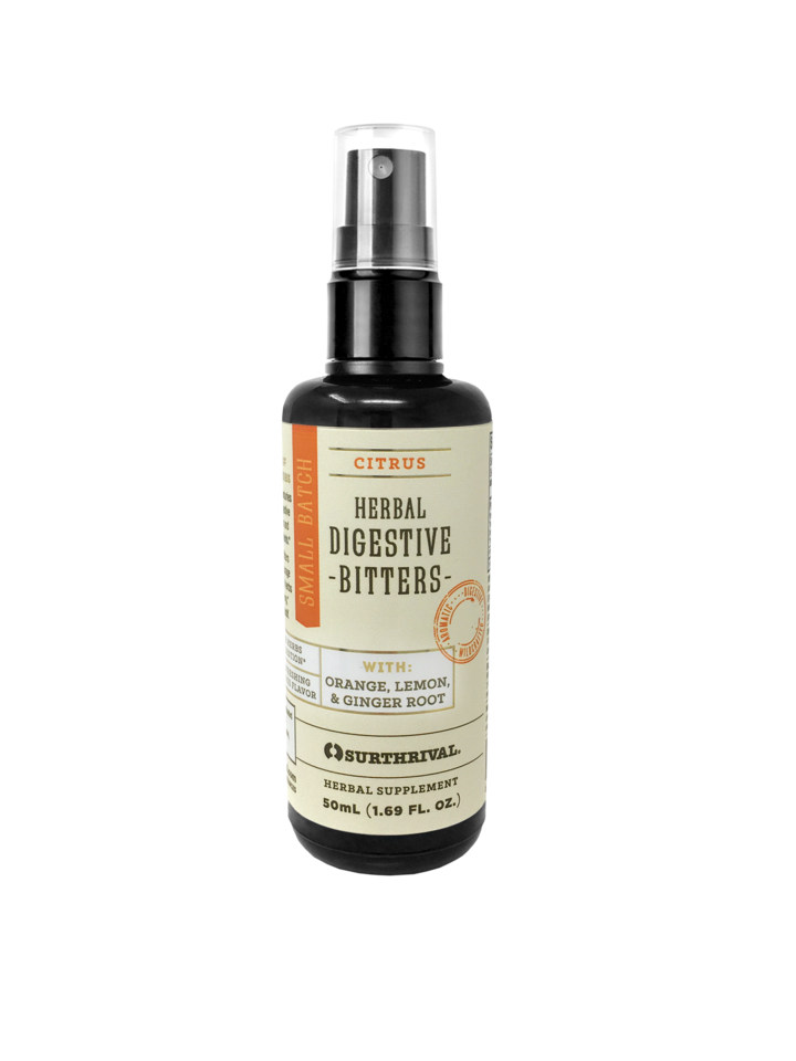 My favourite digestive bitters, by Surthrival. Click image for more info.