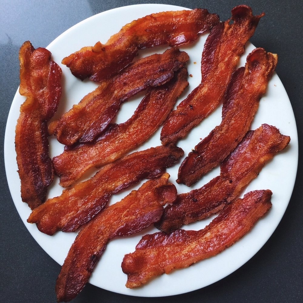 Crispy Oven Baked Bacon -