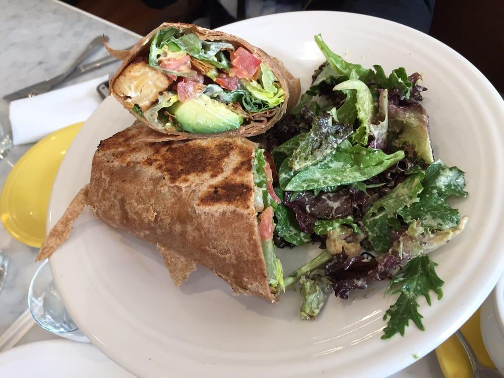 Wraps at Café Gratitude.