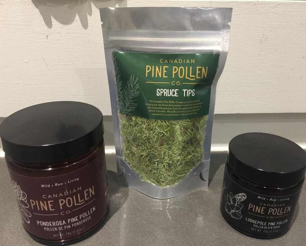 If you don't happen to live near the forest or be into foraging, you're in luck: the  Canadian Pine Pollen Co.  has some epic, organic, sustainably foraged goods that will ship directly to your door!