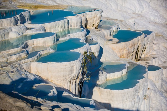 Pamukkale Hot Springs, Denizli, Turkey