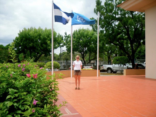 At the UN WFP head office, in Managua, Nicaragua.
