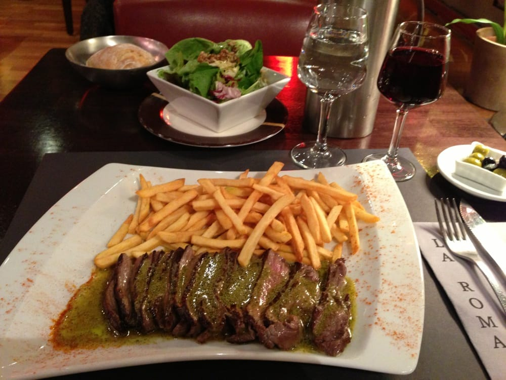 Steak Frites a L'entrecote.