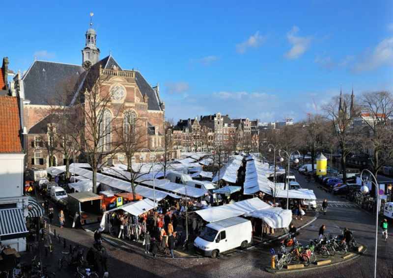 The Noordemarkt organic markets, every Saturday- rain or shine!