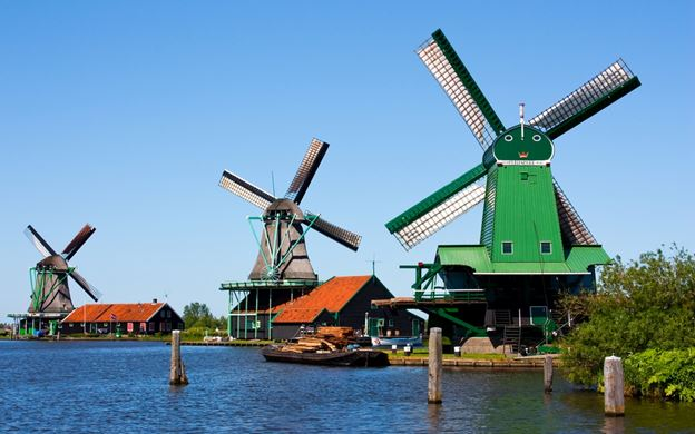 Windmills of Zaanse Schans & Edam.