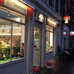Magic Mushroom Gallery, in Amsterdam.