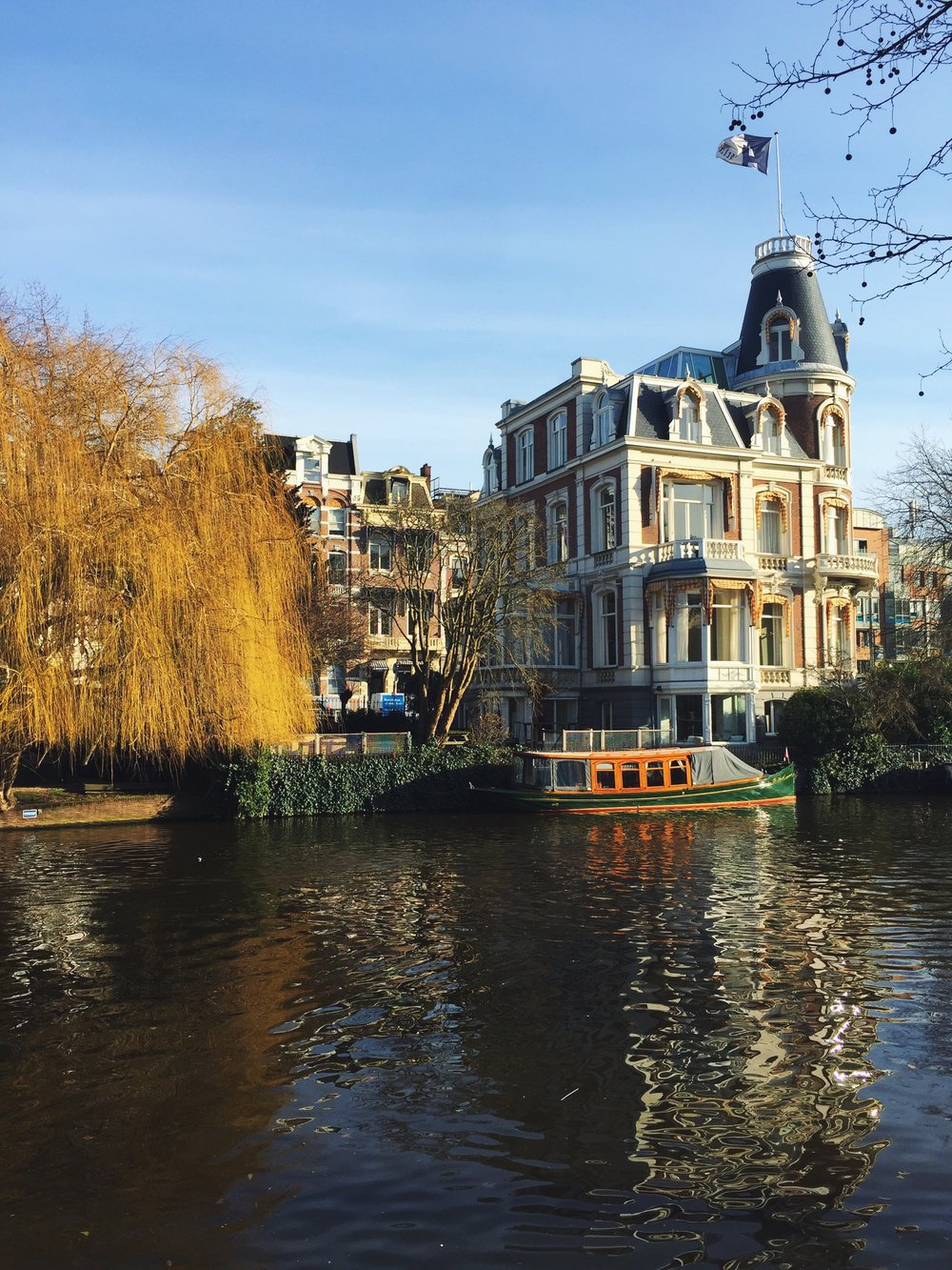 Amsterdam is such a gorgeous city, with magnificent architecture, canals, and boats at every corner. Get a bike, and just get lost!